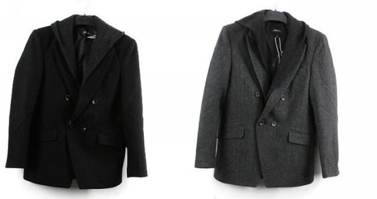 铁灰色大衣搭配