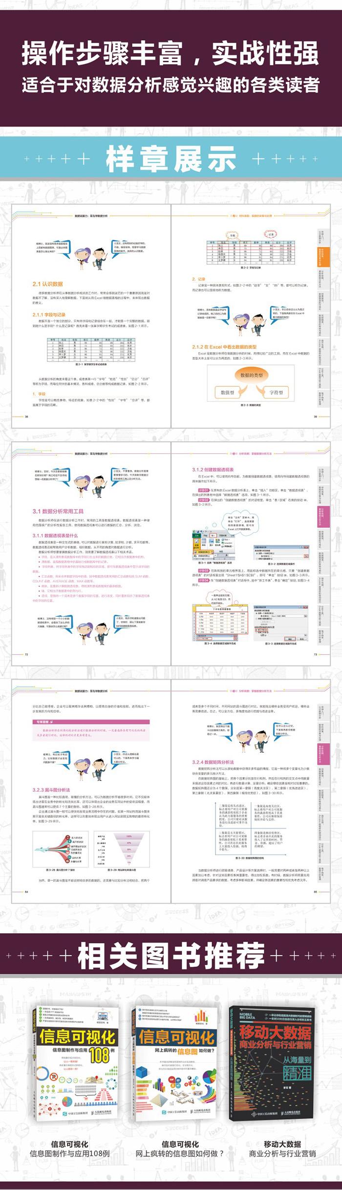 数据说服力 菜鸟学数据分析 PDF下载