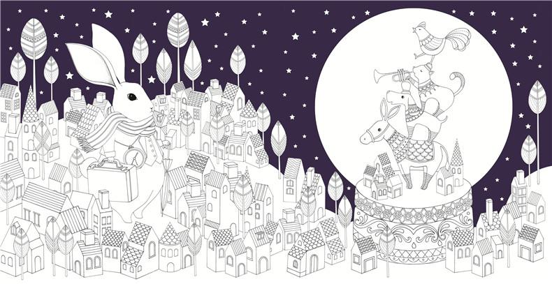 主要作品:《奇幻梦境》《amily的可爱手绘生活:一学就会的1000种简笔
