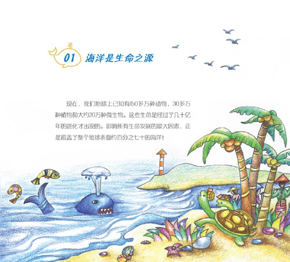 洋流岛屿,水温盐度,海风海浪,海洋生物,海底奇观……以各种与之相关的