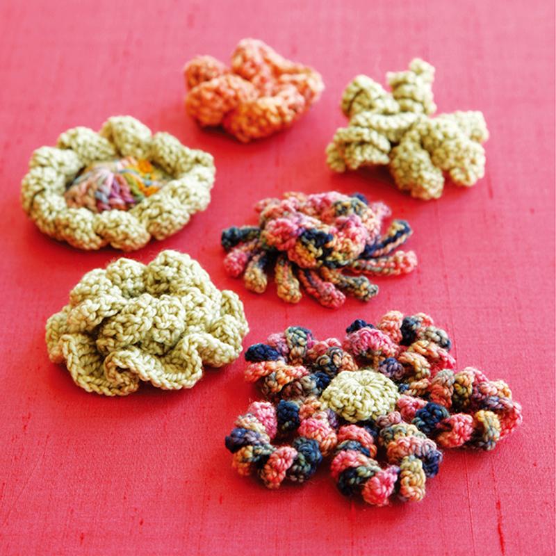 手工/diy 毛线编织/绳编 妮奇的美丽花园:钩编立体花朵 [美]妮奇